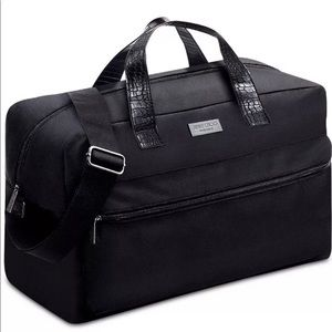 Jimmy Choo Duffel Bag Weekender Travel Gym Holdall